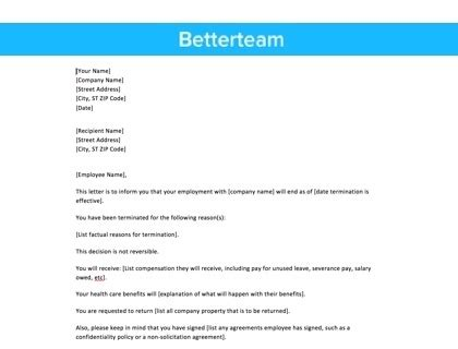 Resume rejection letter examples